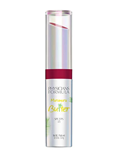 Physicians Formula Spf 15 Murumuru Butter Lip Cream, Acai Berry, 0.12 Ounce