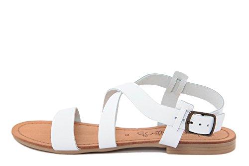 Miss Butterfly Damen - Sandale - Glattleder - MB30_White