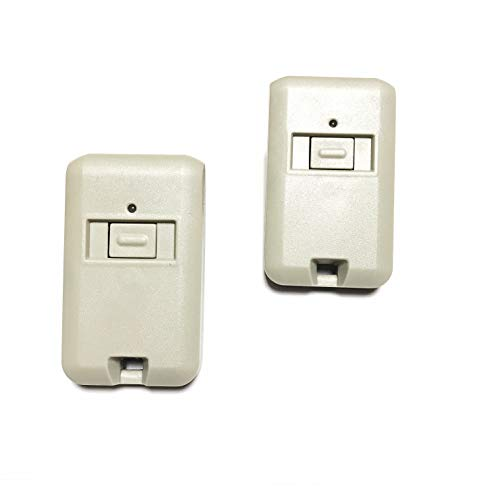 Gate1Access (2) Two Replacement 3060 3089 4120 Compatible MultiCode Remote Garage Door Mini Transmitter 300mhz 3089 4120 1090 (308911, MCS308911 300mhz) Linear (Stanley Gate Openers)