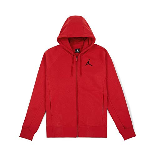 Nike Gym FLEECE Black Rot Red Jacke FLIGHT FZ Rot AOqSArw