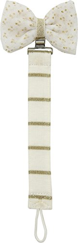 Mud Pie Women's Dot Bow Pacy Clip Gold One Size