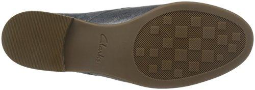 Clarks Alania Posey - Zapatos de cordones de Piel para mujer gris gris