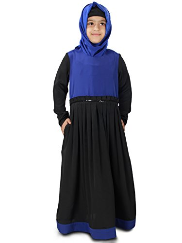 MyBatua-Simah-Black-Occasion-Wear-Kid-Abaya-Burqa-AY-326-K