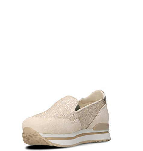 Slip Sneakers Pink Hogan On Leather HXW2220T671IGT0A1B Women's qTzwIfR