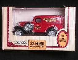 Ertl Anheuser Busch `32 Ford Die Cast Panel Delivery Truc...