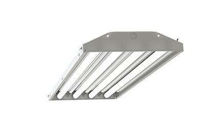 4-lamp T5 HO High Bay Fluorescent Lighting Fixture High Output T5HO, 120-277V