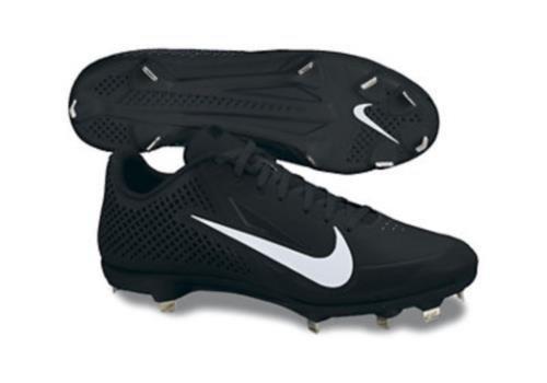NIKE Mens Zoom Vapor Elite BB Metal Baseball Cleats - Size: 13, Black/white (Zoom Vapor Cleats)