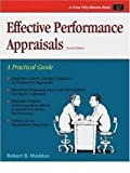 Effective Performance Appraisals, Maddux, Robert B., 0931961114