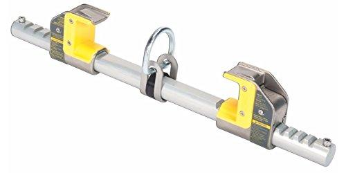 MSA (Mine Safety Appliances) 10144431 Workman FP Stryder Standard Version 4'' - 13.5'' Beam Grip Aluminum Alloy Anchorage Connector, English, 87.8982 fl. oz., Plastic, 20.47'' x 13.5'' x 4''
