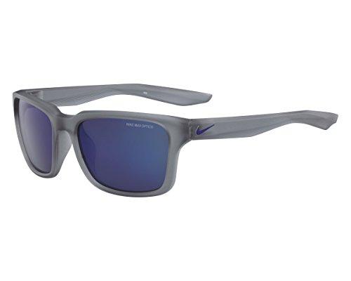 Nike Sonnenbrille (NIKE ESSENTIAL SPREE R EV1004) MT W GRY W/GRY BLU NI FL LENS