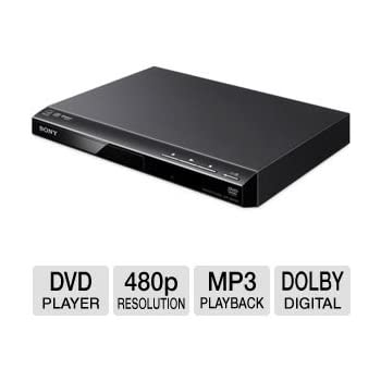 Sony Progressive Scan DVD Player With 480p Progressive Output Fast/Slow Playback With Sound  sc 1 st  Amazon.com & Amazon.com: Sony Progressive Scan DVD Player With 480p Progressive ...