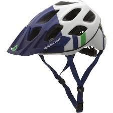 Six Six One Recon Helmet Blue/Green, L/XL 661 Full Face Helmet