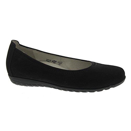 Waldläufer Black Flats 001 Women's 329051162 Ballet Black vqr6vSw