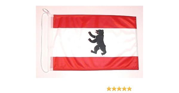 Barco de bandera de Berlín barco banderad colour bandera de: Amazon.es: Deportes y aire libre