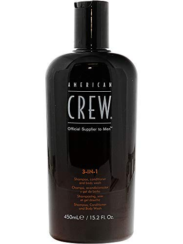 American Crew: 3-in-1 Shampoo, Conditioner & Body Wash, 15.2 oz (2 pack)