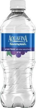 Pepsi Aquafina Flavor Splash, Grape Flavor, 20 Oz. Bottle...
