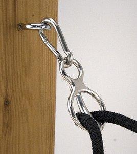 Toklat Blocker Tie Ring Trailer Cross Ties Horse Safety Tie by Toklat