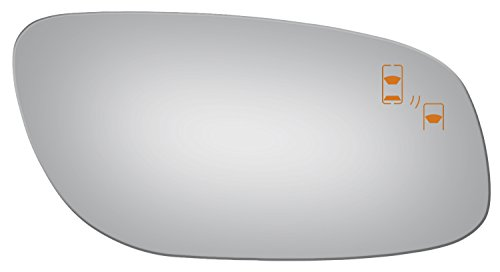 Ford Blind Spot Mirror - Burco 5387B Redi-Cut Right Side Mirror Glass w/Blind Spot for 10-14 Ford Taurus