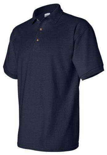 Ultra Cotton Pique Sport Shirt, Color: Navy, Size: Small (Pique Shirt Cotton Sport Ultra)