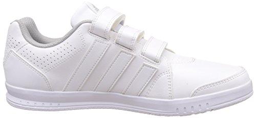 adidas Lk Trainer 7 Cf K, Zapatillas para Niños Blanco (Ftwbla / Ftwbla / Onicla)