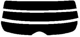 株式会社セブン リヤーガラス用のみ ハードコートフィルム スバル レガシィワゴン レガシーワゴン BR カット済みカーフィルム スモーク