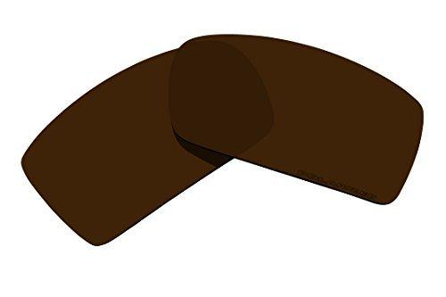 BVANQ Polarized Sunglasses Lenses Replacement for Oakley Gascan Sunglasses (Bronze Brown)