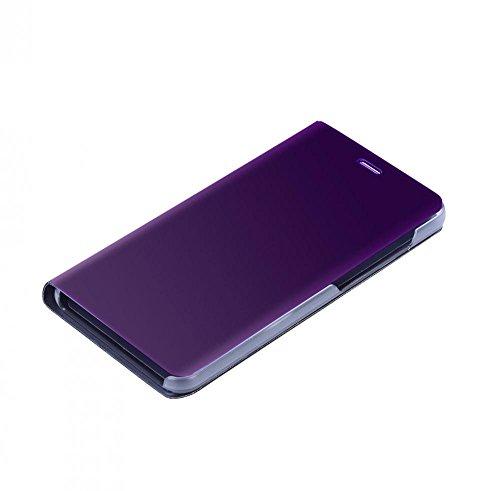 Asixx Cáscara del Teléfono Móvil para Huawei P10 Lite, de La Caja de Espejo de Lujo,con Una Protección de Cobertura Total...
