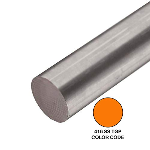 - Online Metal Supply 416 TGP Stainless Steel Round Rod, 0.750 (3/4 inch) x 48 inches