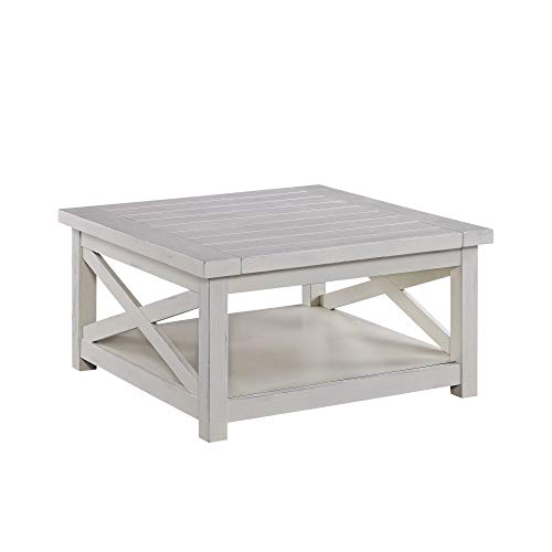 (Seaside Lodge White Coffee Table by Home Styles)