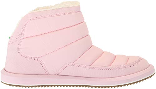 Puff Boot Pink Women's Ankle Sanuk Chill N Chalk an5xH6q0
