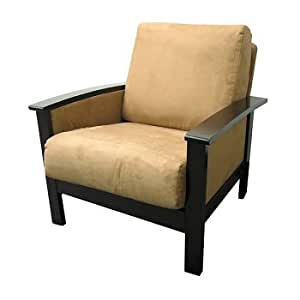 Milano Espresso and Mocha Chair