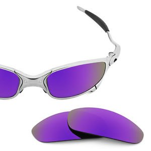 Lentes de Juliet Restorer Sunglasses Oakley para Mirror Polarizadas Recambio Purple FqaU5x