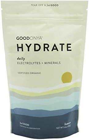 Electrolyte Plant Based Ultimate Replenishment GOODONYA 5 6oz