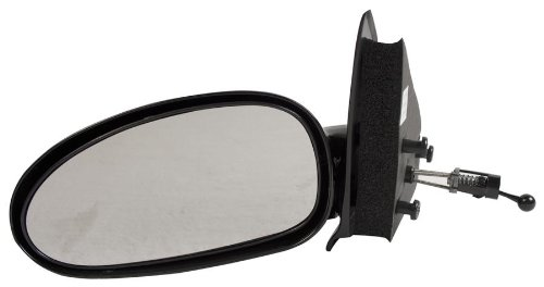 OE Replacement Saturn S-Series Driver Side Mirror Outside Rear View (Partslink Number GM1320186)