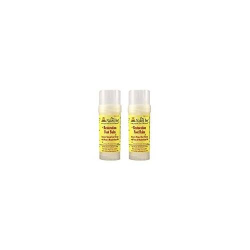 The Naked Bee Restoration Foot Balm, 2 Ounce - 2 Pack
