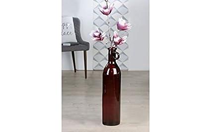 Casablanca XXL Jarrón Decorativo (Suelo Jarrón Botella Facil Cristal Bayas Deko H 76 cm