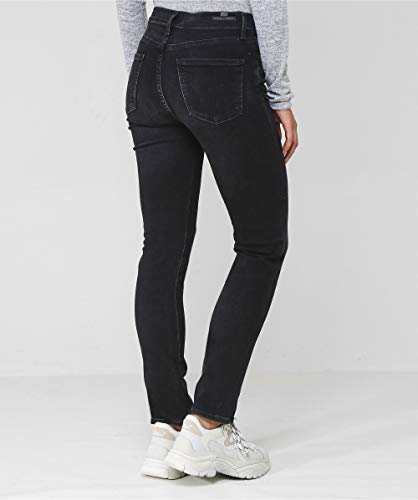 of Citizens Harlow Jeans Noir Rise Noir High Coupe Slim Femmes Humanity H7R7qf4nZ