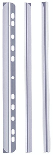 Durable 293019 Spine Bar A4 for Approximately 30 Sheets Pack of 50 Transparent