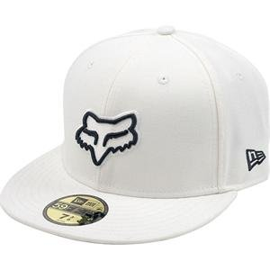 dced031b25a Image Unavailable. Image not available for. Color  Fox VITAL NEW ERA  59FIFTY CAP WHITE 7 1 2