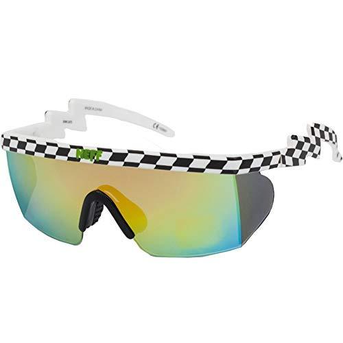 Checker Brodie Black NEFF White Men's Sunglasses Shades wFacpIUq