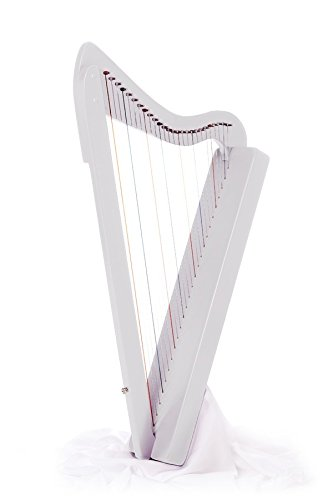 Harpsicle Harp - White by Harpsicle Harps