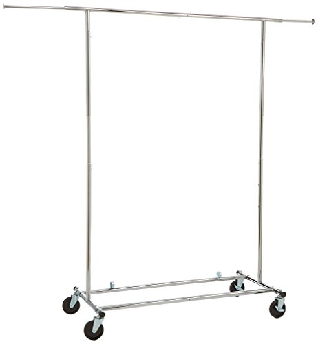 AmazonBasics Garment Rack - Chrome (Hang Closet Double)