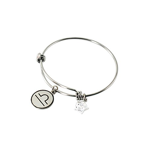 Zodiac Expandable Wire Bangle Bracelet Constellation Jewelry Gift