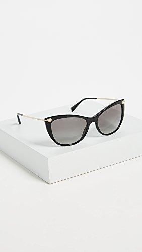 Versace lunettes de soleil strass méduse en noir VE4345B GB1/11 57 Gradient Grey Black
