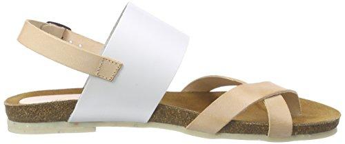 Jonny's Yepa, Women's Sling Back Sandals Multicoloured (Maquillaje/Blanco)
