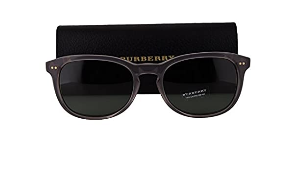 1be1389aaf2 Burberry BE4214 Sunglasses Smoke Gray w Gray Green Lens 355271 BE 4214   Amazon.ca  Clothing   Accessories