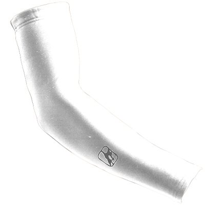 Giordana Super Roubaix Arm Warmers - White - GI-ARMW-SURO-WHIT (XL) (Knee Roubaix Warmers)