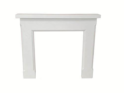 - Nature and Designs Shelby 54 in. x 45 in. Calacatta Engineered Marble Mantel