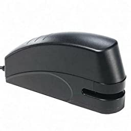 X-ACTO Electric Stapler w/Anti-Jam Mechanism, 20 Sheet Capacity, Black by X-Acto