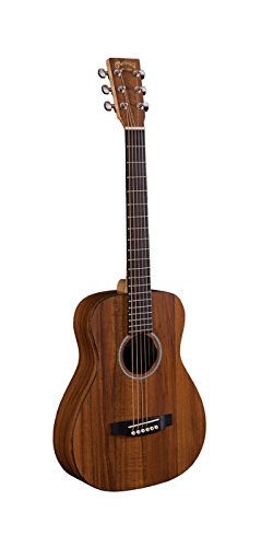 Martin LXK2 Little Martin Koa Pattern HPL Top with Padded Gigbag Child Student Steel String